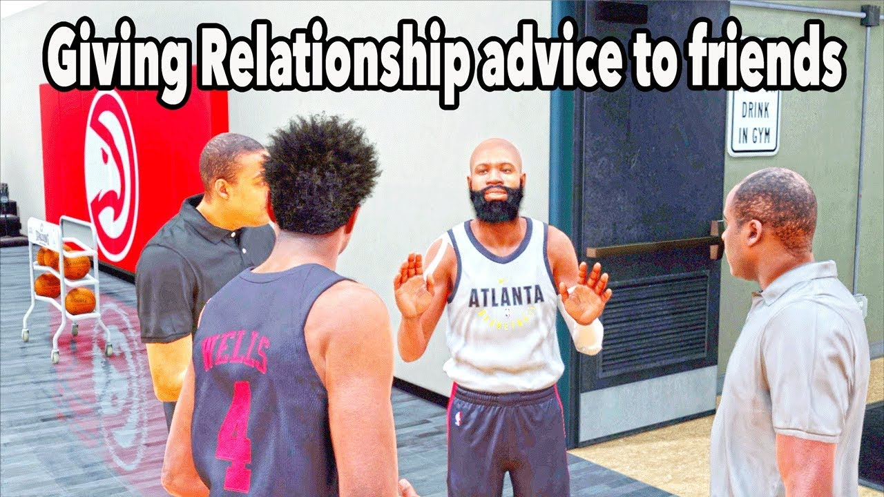 Giving a friend dating advice