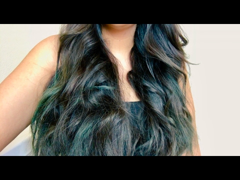 Dyeing My Hair At Home L Or 233 Al Colorista Teal10 Youtube