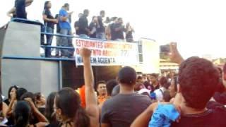 Movimento estudantil - UNIRG - 12/11/2009
