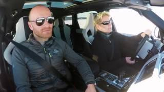 فيديو مدهش لرنج روفر سبورت SVR تتزلج على بحيرة متجمدة