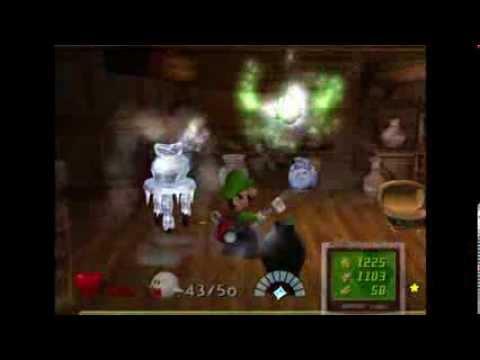 Luigi's Mansion (PAL) Hidden Mansion Playthrough Area 4