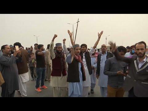 مظاهرات بعد إخلاء سبيل باكستانية مسيحية حُكم عليها بالإعدام لازدراء الإسلام…