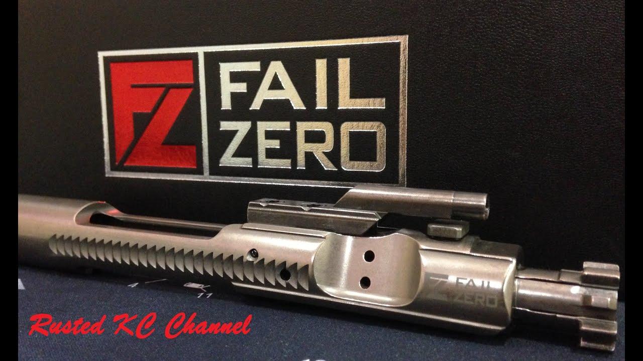 Fail Zero Bolt Carrier Group