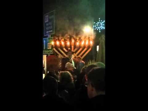 Chanukah Public Menorah Lighting