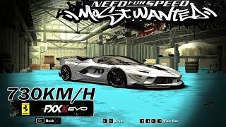 Ferrari FxxK Evo Topspeed=730kmh~Junkman Tunning