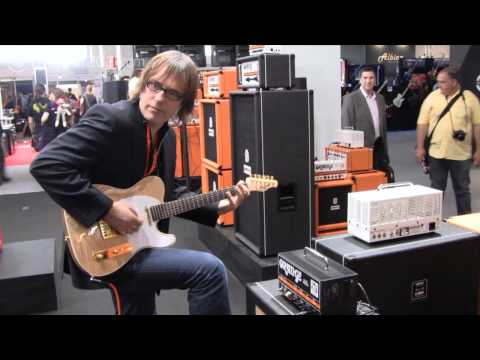 Orange Dark Terror amp demo at Frankfurt Musikmesse 2011