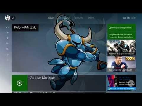 Groove Xbox One - La musique en arrière plan