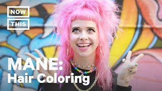 MANE - Bright Hair Colors – Dare to Be Bold | MANE (Episode 4) | NowThis thumbnail