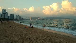 Нячанг вечерний пляж