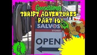 Goosebumps Thrift Adventures! #10