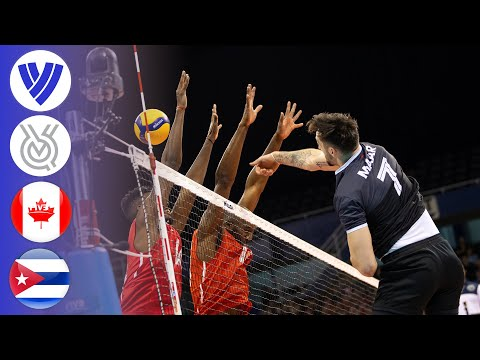 Canada Vs. Cuba - Full Match   Men's Volleyball Tokyo Olympic Qualifier 2020