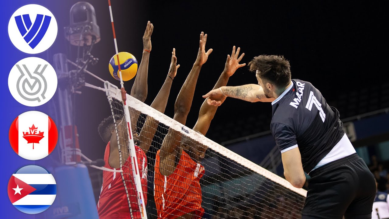 Download Canada vs. Cuba - Full Match | Men's Volleyball Tokyo Olympic Qualifier 2020