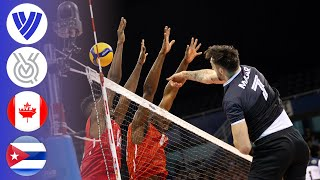 Canada vs. Cuba - Full Match | Men's Volleyball Tokyo Olympic Qualifier 2020
