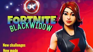 NEW*BLACK WIDOW skin & Fortnite x Avengers endgame cinematic trailer!