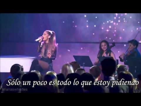 Ariana Grande -Just a little bit of your heart- Traducida Letra en español