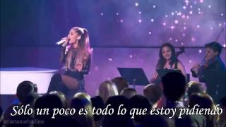 Ariana Grande -Just a little bit of your heart- Traducida Letra en español
