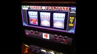 IGT - $5 Triple Diamond WOF Slot Machine ~HANDPAY~JACKPOT~HUGE WIN~