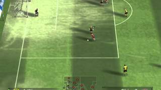 fifa 08 gameplay pc bayern de munich e borussia dortmund