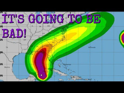 HURRICANE MICHAEL IS HERE! EMMA ADMITS HER MISTAKES!