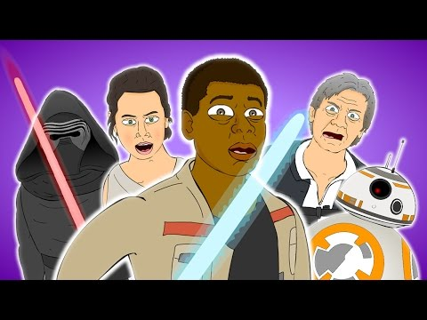 ♪ THE FORCE AWAKENS THE MUSICAL  Animated Star Wars Song