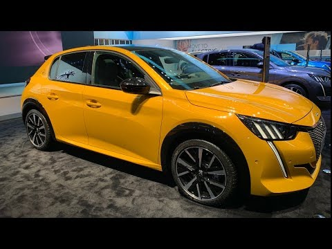 New Peugeot 208 (2020) first look & FULL REVIEW (GT Line)