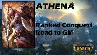 SMITE | Athena, pero si este dios es la leche! | Ranked Conquest | Road to GM #14