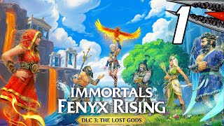 Immortals Fenyx Rising: The Lost Gods DLC - Gameplay Walkthrough Part 1 (PC)