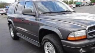 2003 Dodge Durango Used Cars Cincinnati OH