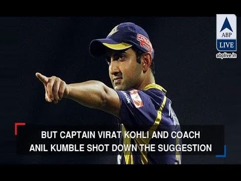 "In Graphics: Gautam Gambhir takes a dig at Virat Kohli, says ""I am cornered but not a coward"""