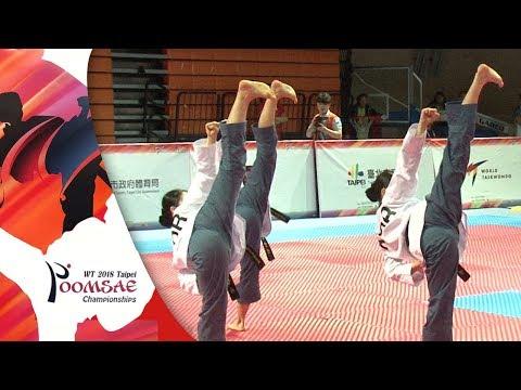 Recognized Poomsae Team Female Junior Final, KOR Vs TPE