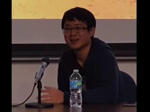 On Location and Talking with Sonny Liew at UT Dallas