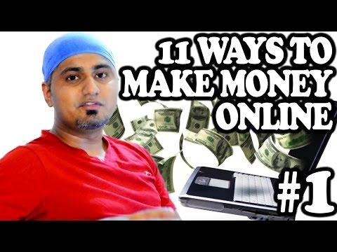 11 Ways to Make Money Online - Freelance Jobs (Ep. 1)