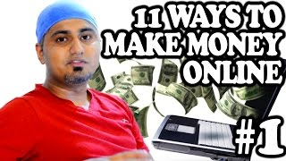 'almost social' presents 11 ways to make money online. this series will be having parts. first part talks about all freelance job opportunities including ...