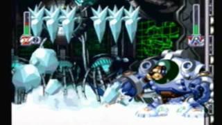 Lets play Megaman X4 100%  (Part 5 Frost Walrus)