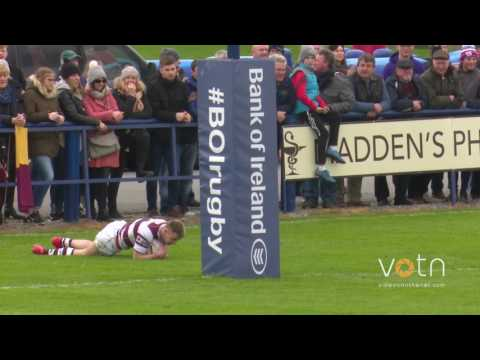Full match: Bank of Ireland Provincial Towns Cup Final 2017. Tullow RFC v Skerries RFC