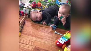 Top 10 FUNNY TWINS BABY ARGUING OVER EVRYTHING | Funny Babies and Pets