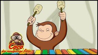 Coco der Neugierige 🐵204 Coco und die Tonleiter 🐵 Ganze Folgen 🐵 Cartoons für Kinder🐵Staffel 2