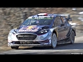 2017 Ford Fiesta RS WRC PURE Sound in Action @ Rallye Monte Carlo!