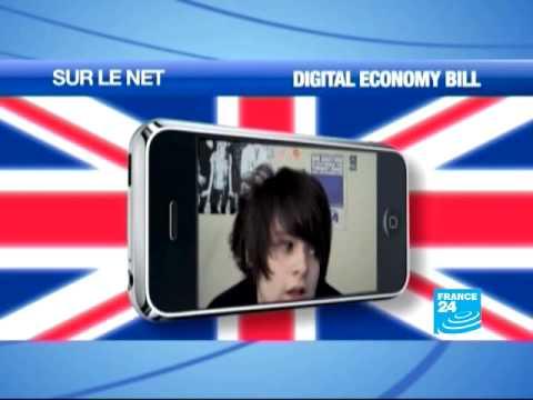 """Digital economy bill"" mobilise la toile au Royaume-Unis"