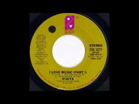 1976 052 O Jays I Love Music Pt 1 45 Youtube