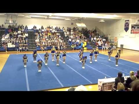 King George Middle School Cheer Fest 2014
