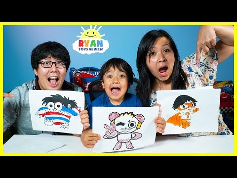 3 Markers Challenge with Daddy and Mommy!