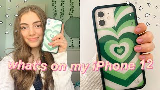 WHAT'S ON MY IPHONE 12 | 2021