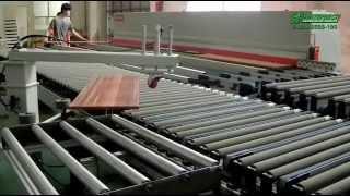 Возвратный конвейер для кромкооблицовочного станка автоматический пежо транспортер