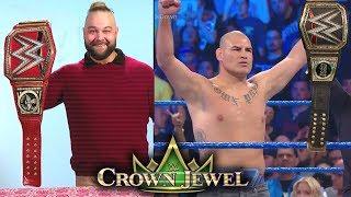 10 Last Second WWE Crown Jewel 2019 Rumors & Spoilers - Bray Wyatt & Cain Velasquez Win Titles