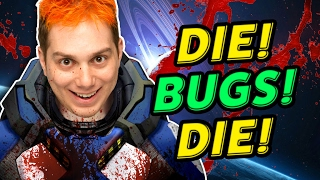 TRAPPED IN THE DARK WITH BUGS! (Reality Shift)
