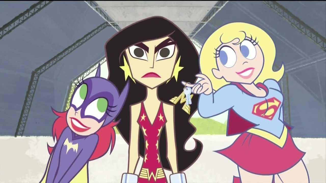 Friends Show Cartoon Super