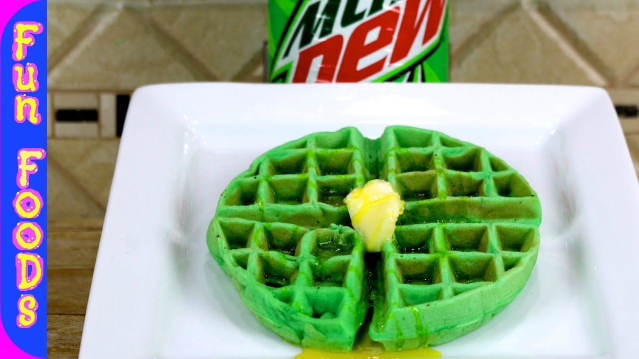 images How to Make Popcorn Waffles