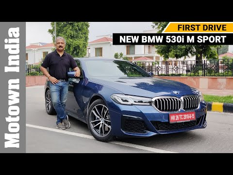 2021 BMW 530i M Sport Review | First Drive | New BMW 5 series | Motown India