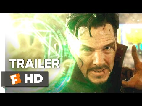Doctor Strange Official Trailer 1 (2016) - Benedict Cumberbatch Movie